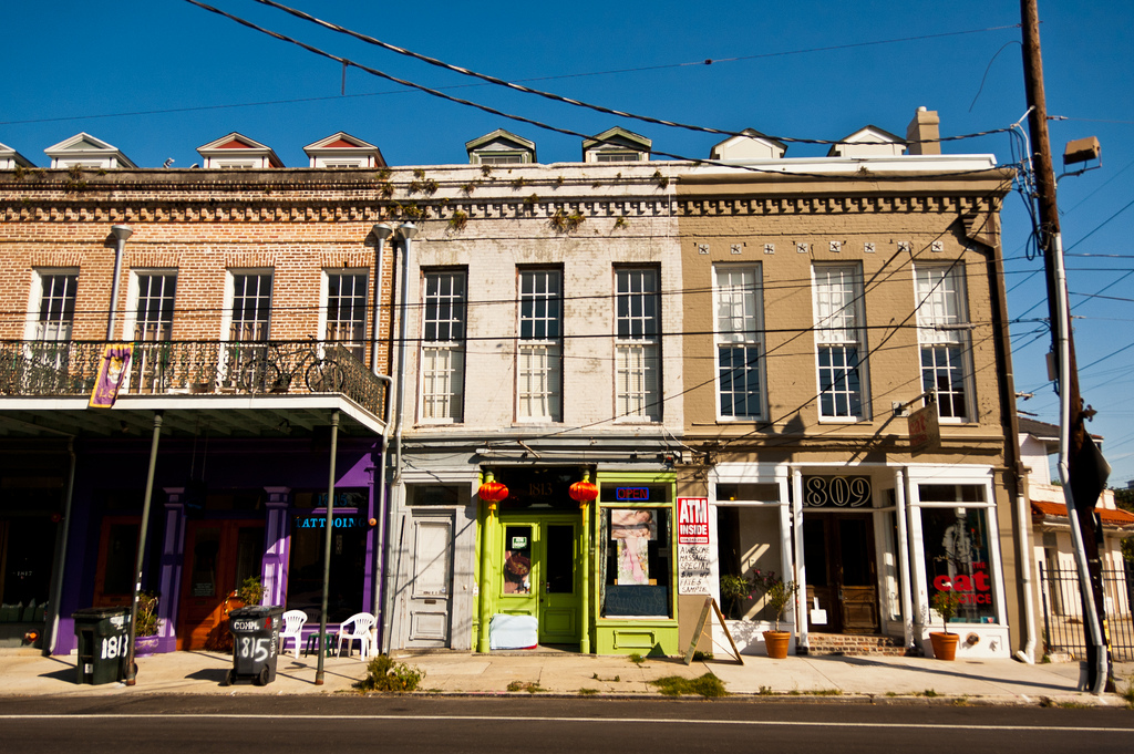 Shopping district New Orleans