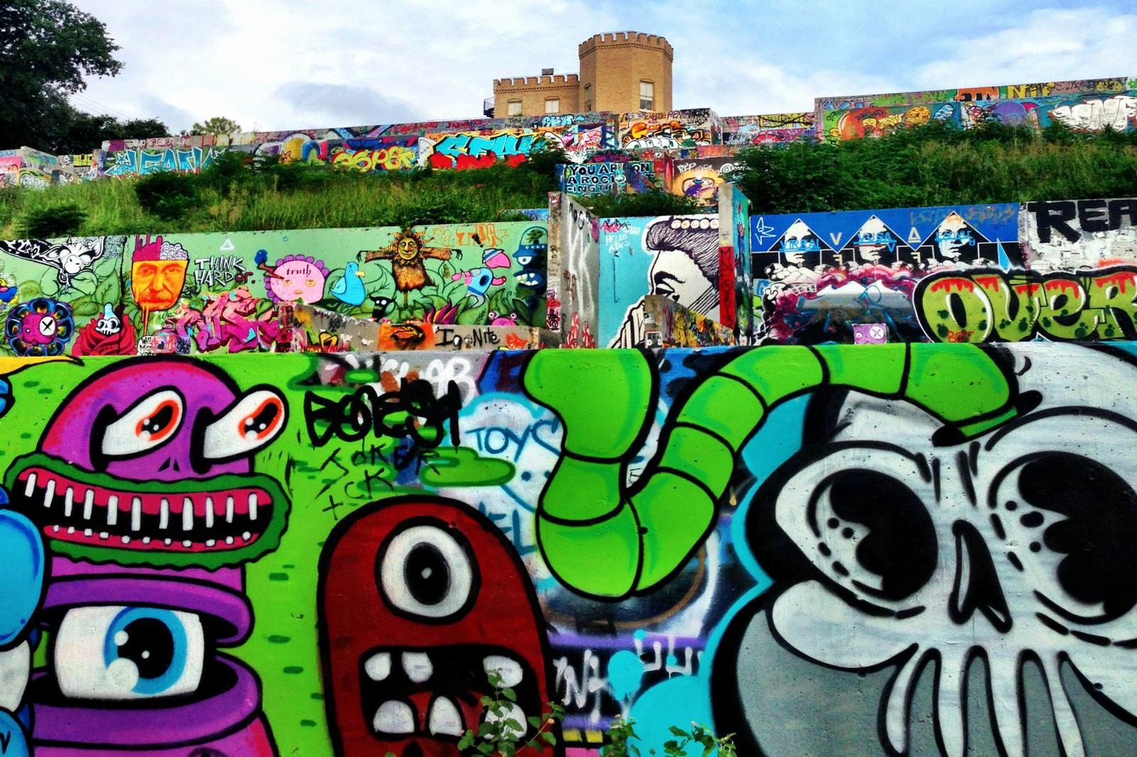 Austin graffiti art