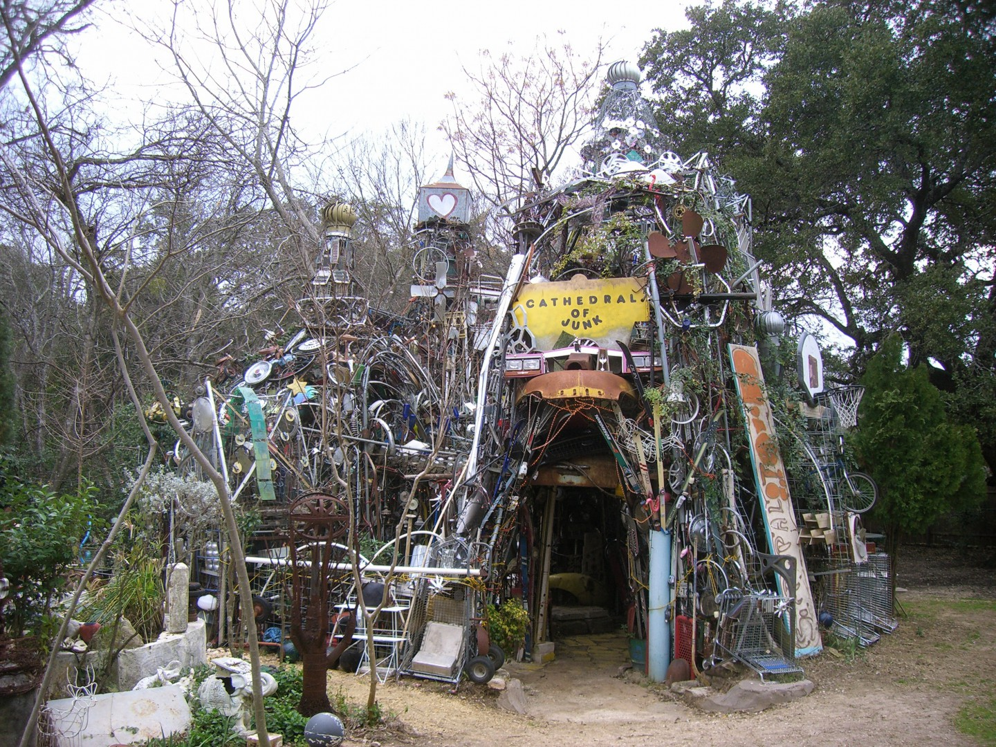 Cathedral of Junk Austin Texas