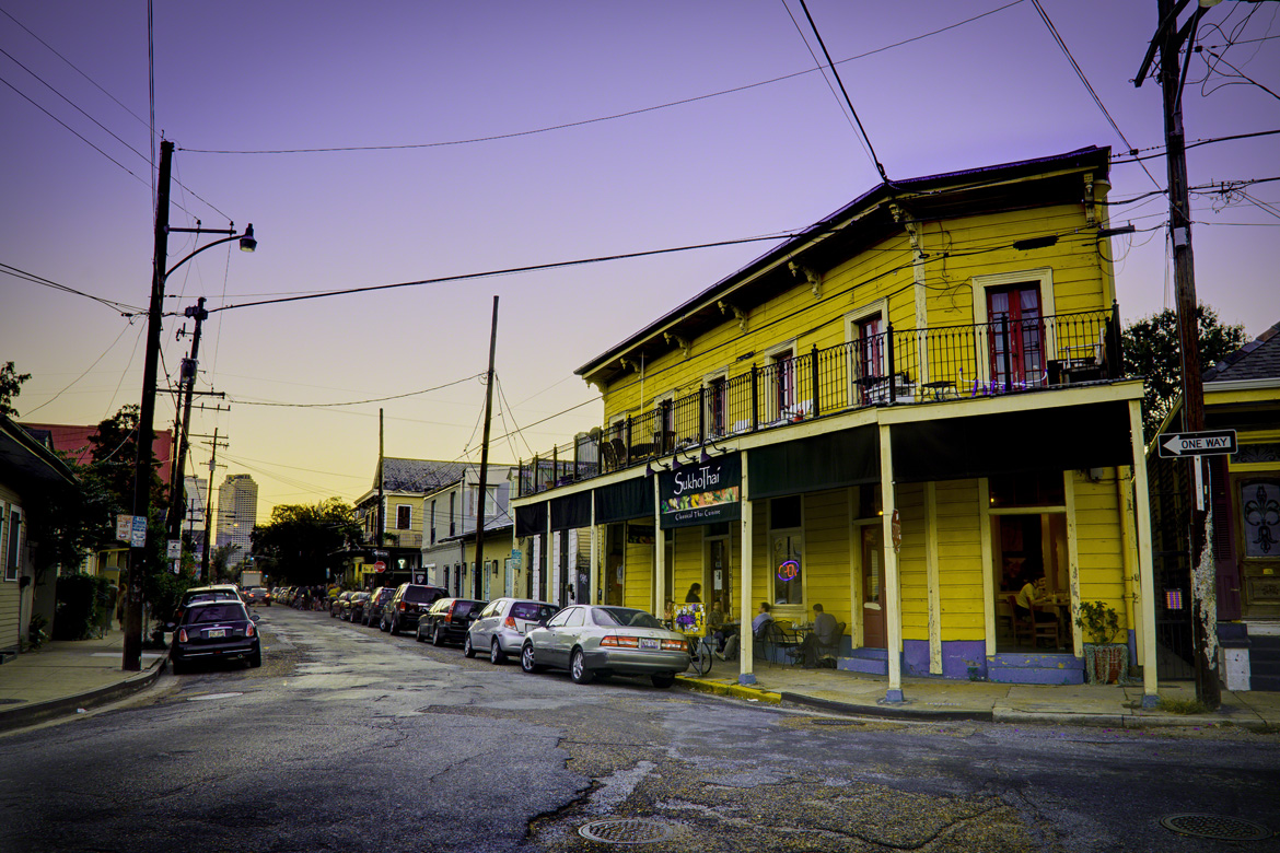 Marigny-Sunset