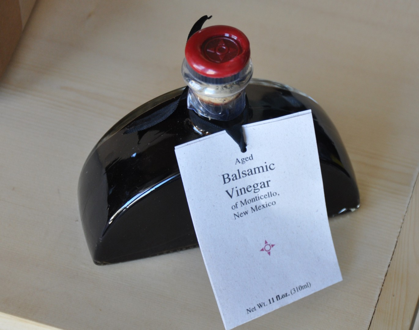 Age Balsamic Vinegar of Monticello New Mexico