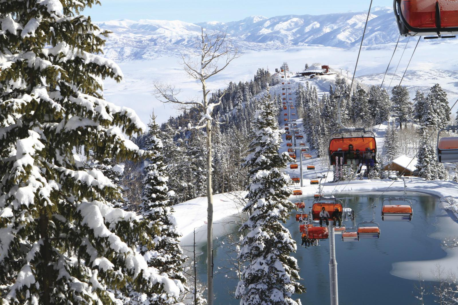 Heated Chairlifts will keep you cozy in the Canyons