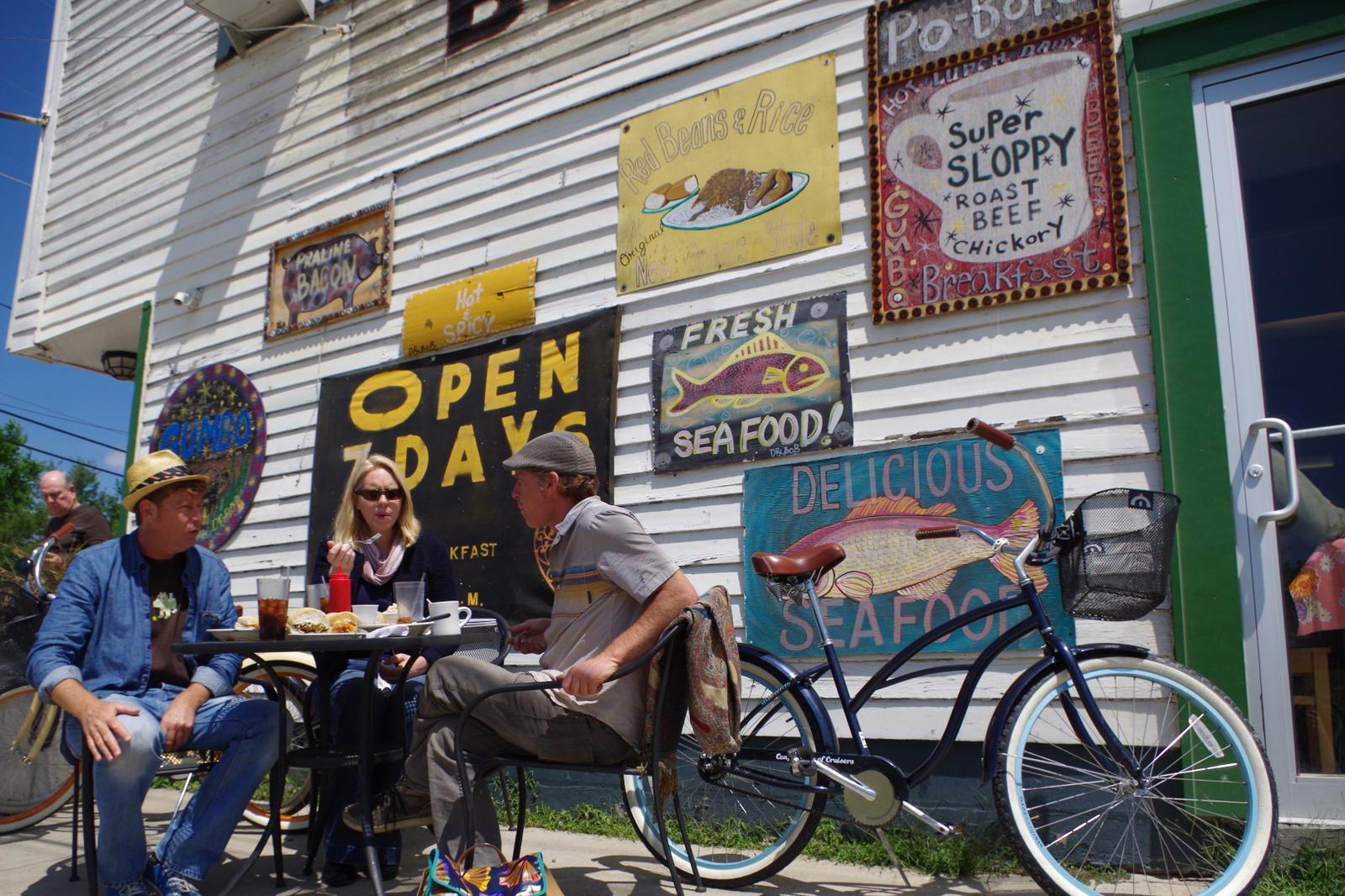 Culinary bike ride New Orleans