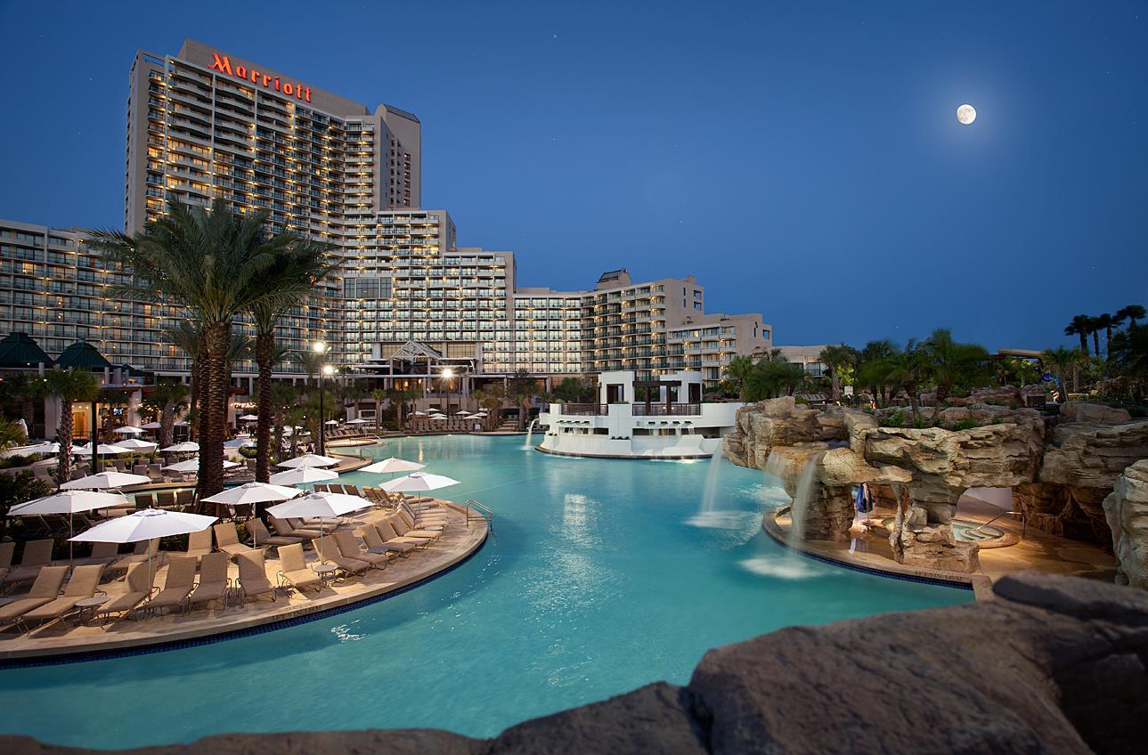 Marriott Hotel Pool Orlando