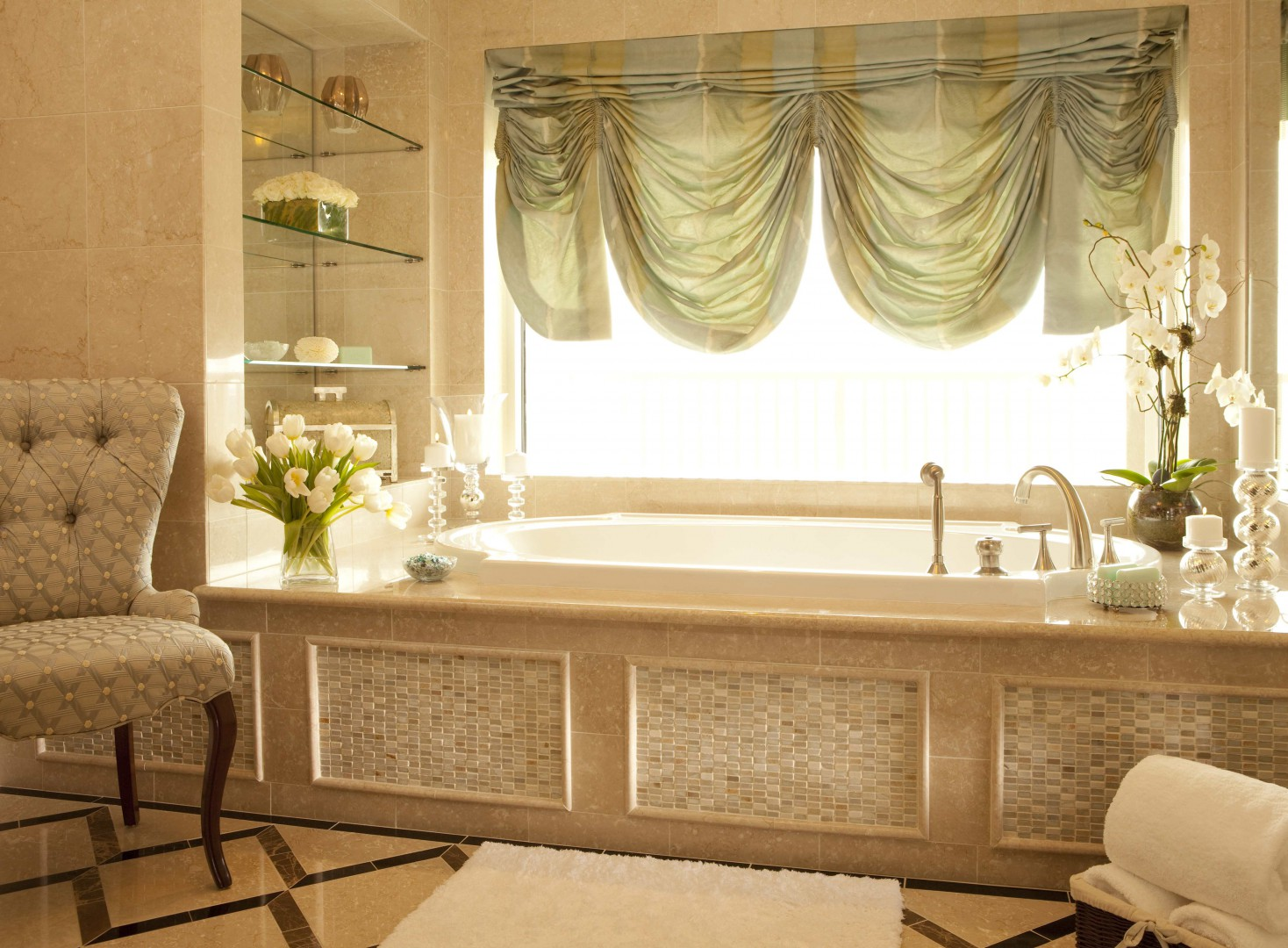 Waldorf Astoria Orlando Presidential Suite master bath