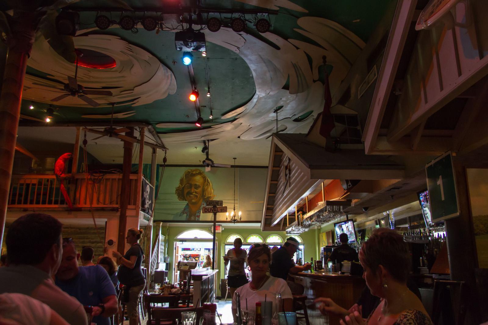 Jimmy Buffet bar Key West, Florida