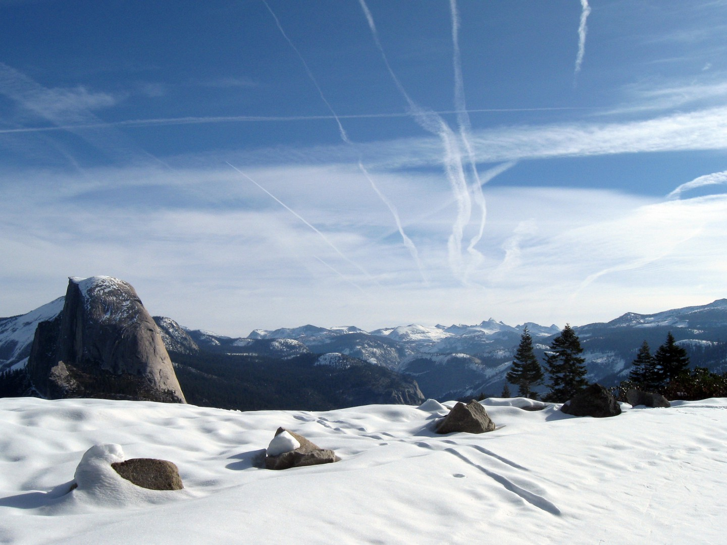 Yosemite back country skiing