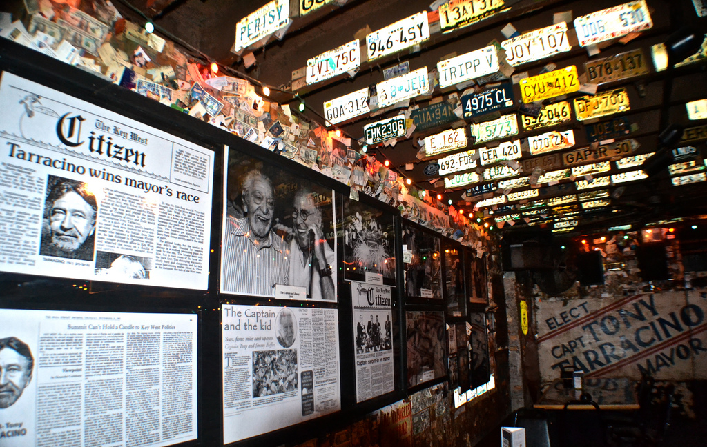 Captain Tony's Wall, Key West, Florida