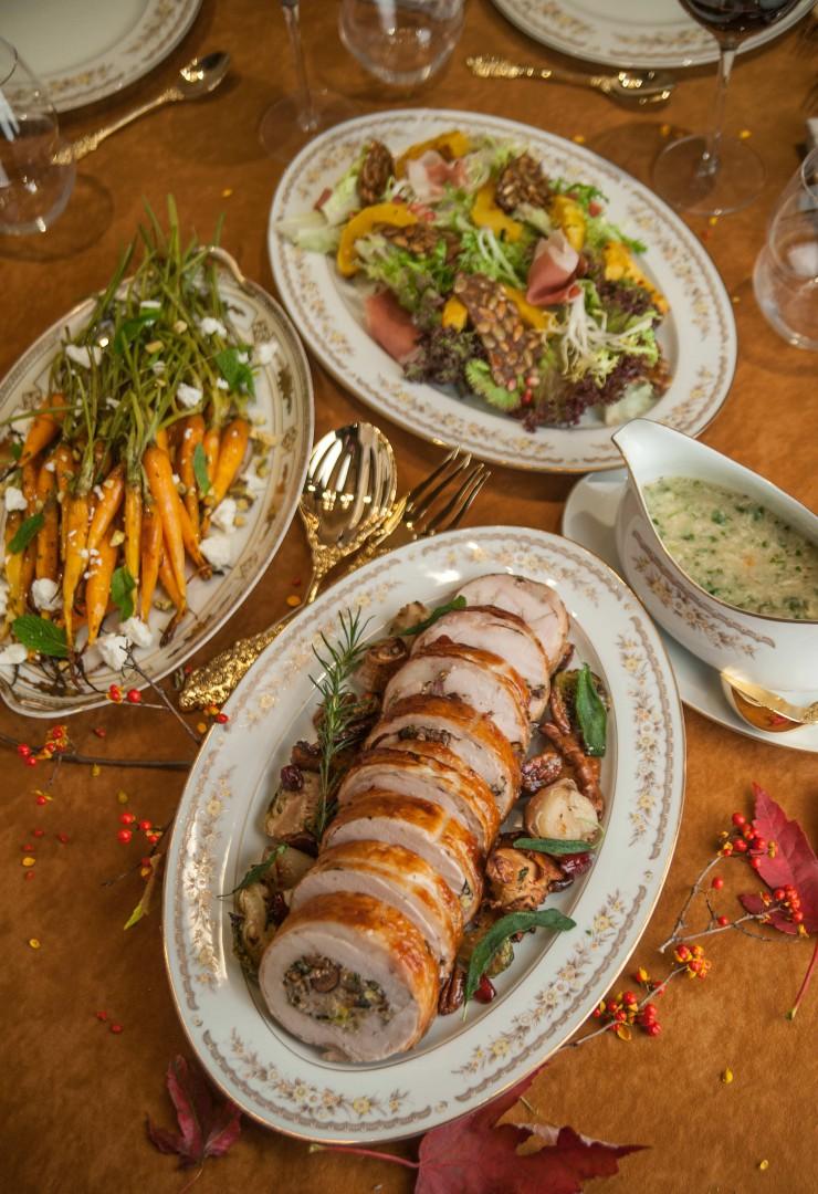 Turkey Galantine, Mason's Restaurant Nashville