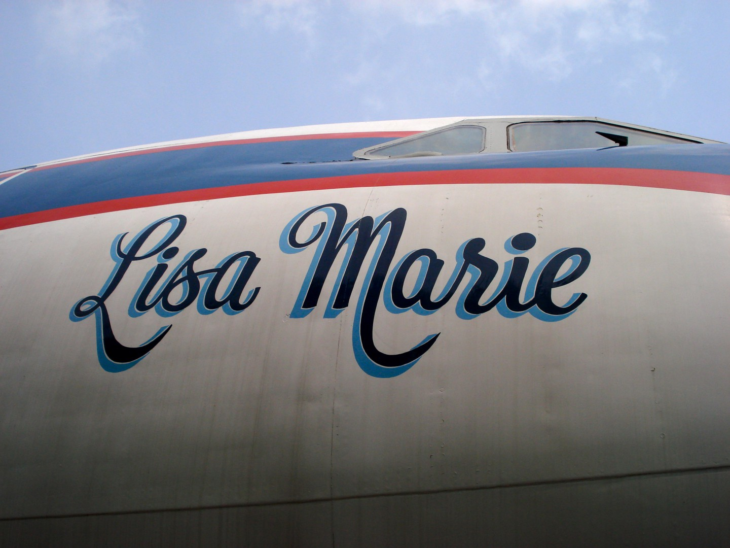 Lisa Marie Elvis' airplane
