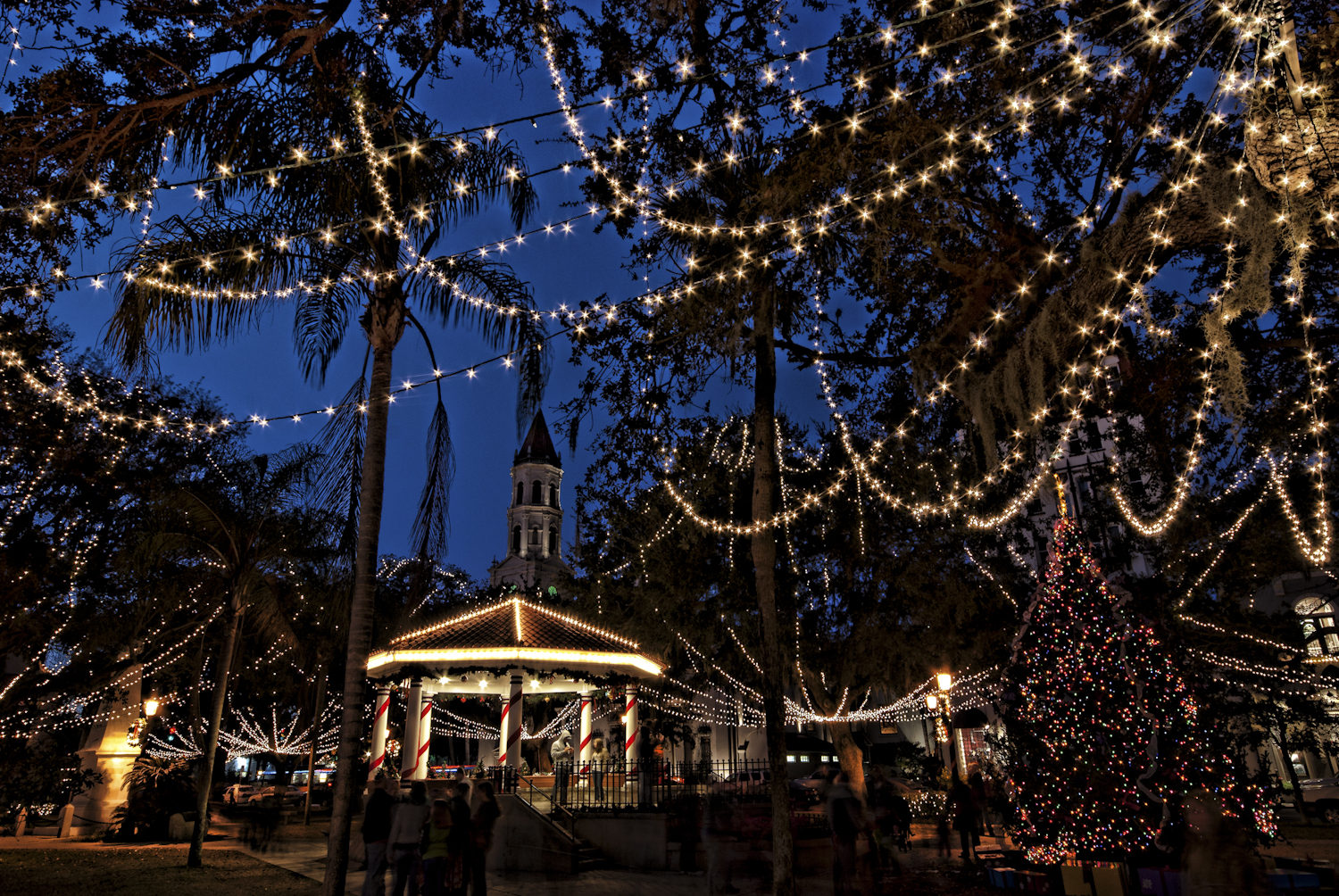 St.Augustine Festival of Lights, Florida