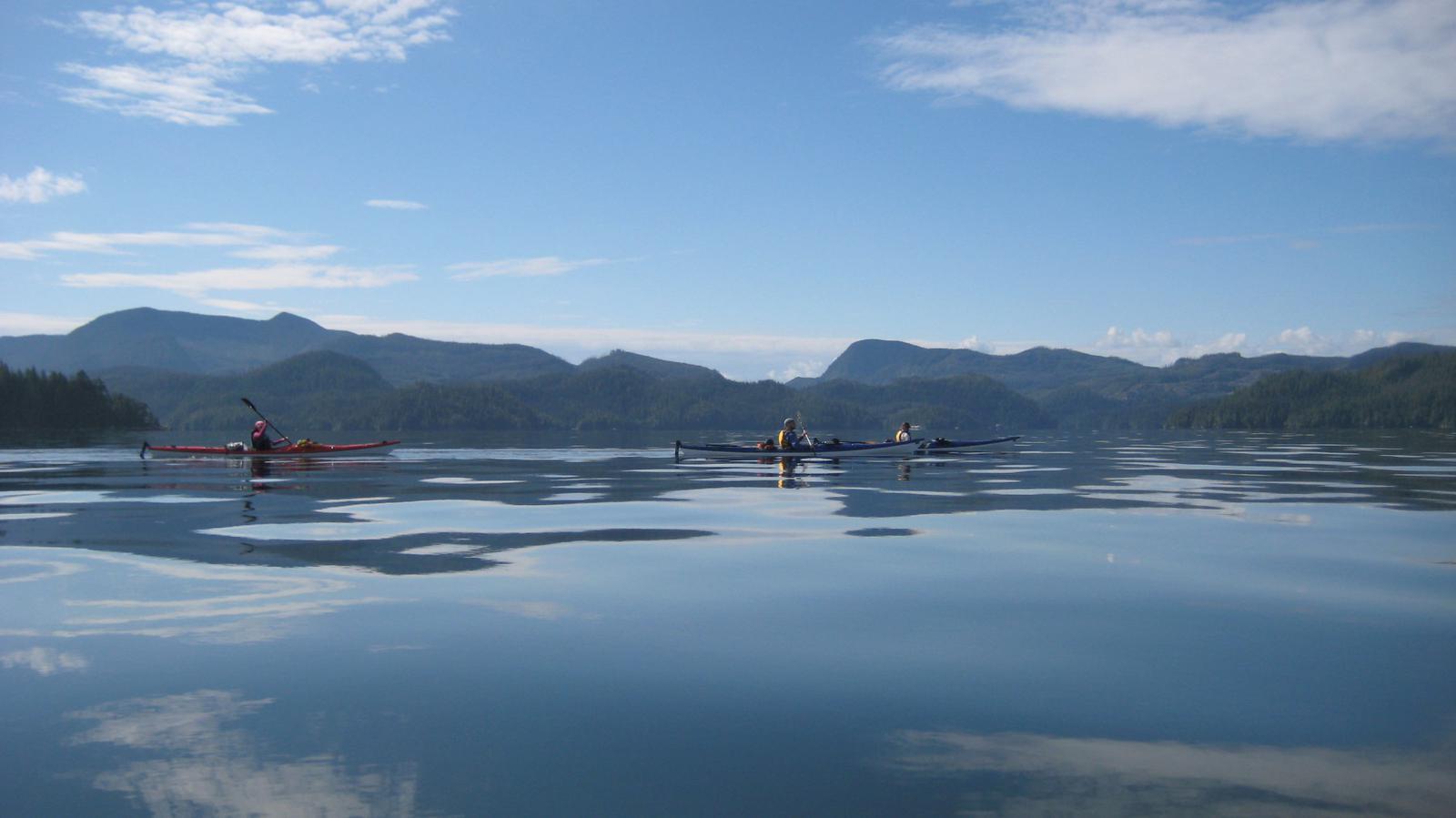 Sea kayaking Vancouver BC