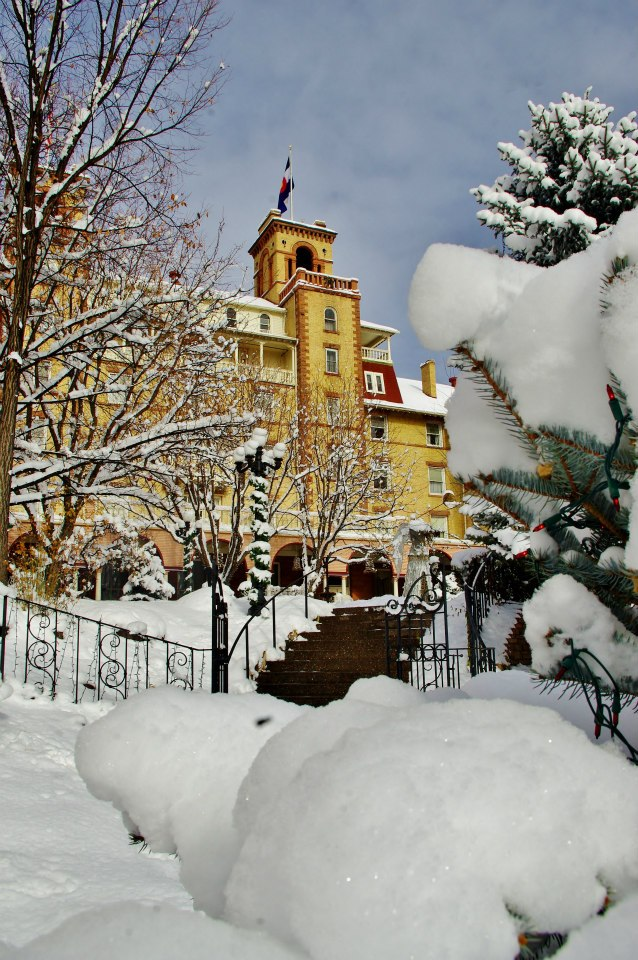 Hotel Colorado in Glennwood Springs