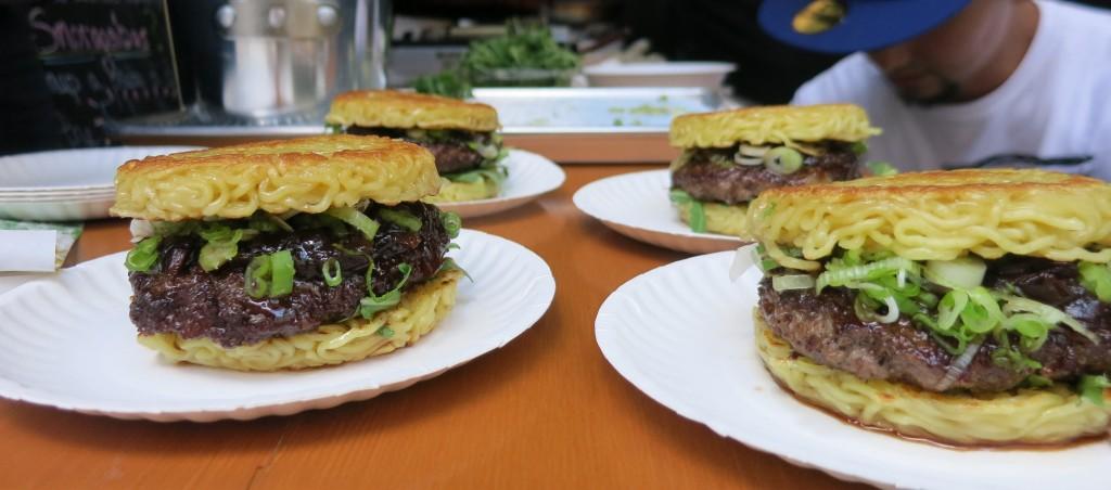 Keizo Shimamoto's Ramen Burger