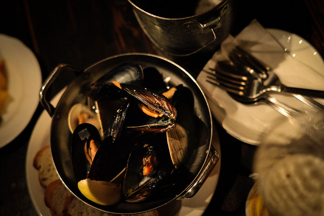 Steamed Mussels Donatelli's Bistro St Louis New Years Eve