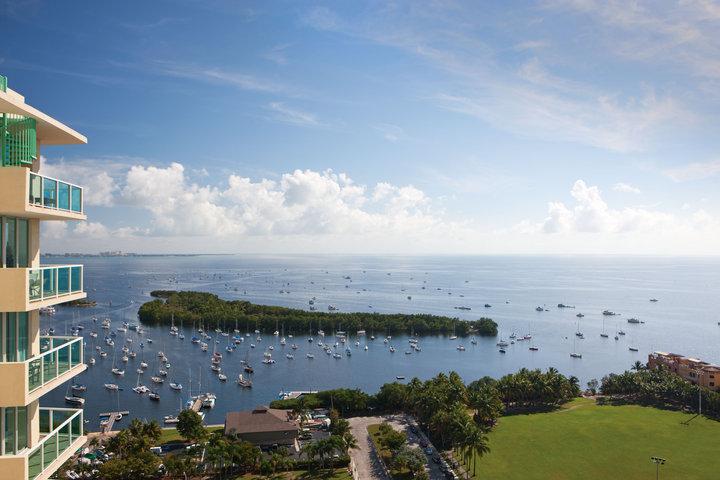 View at the Sonesta Bayfront Hotel Miami