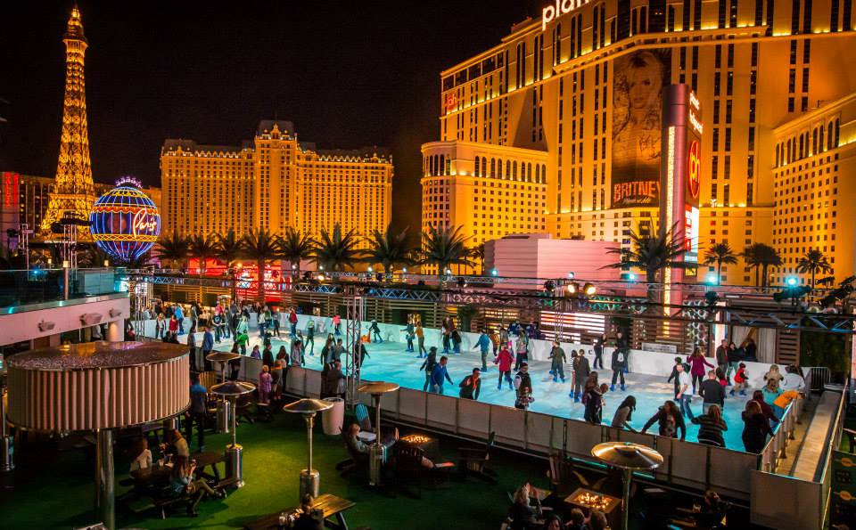 Ice skating New Year's Eve Las Vegas
