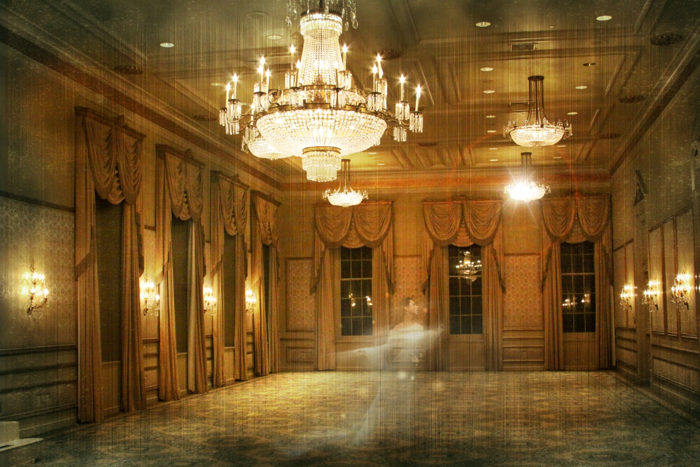 Haunted Ballroom Bourbon Hotel New Orleans