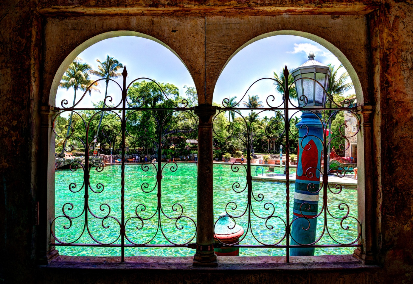 Venetian Pool in Coral Gables