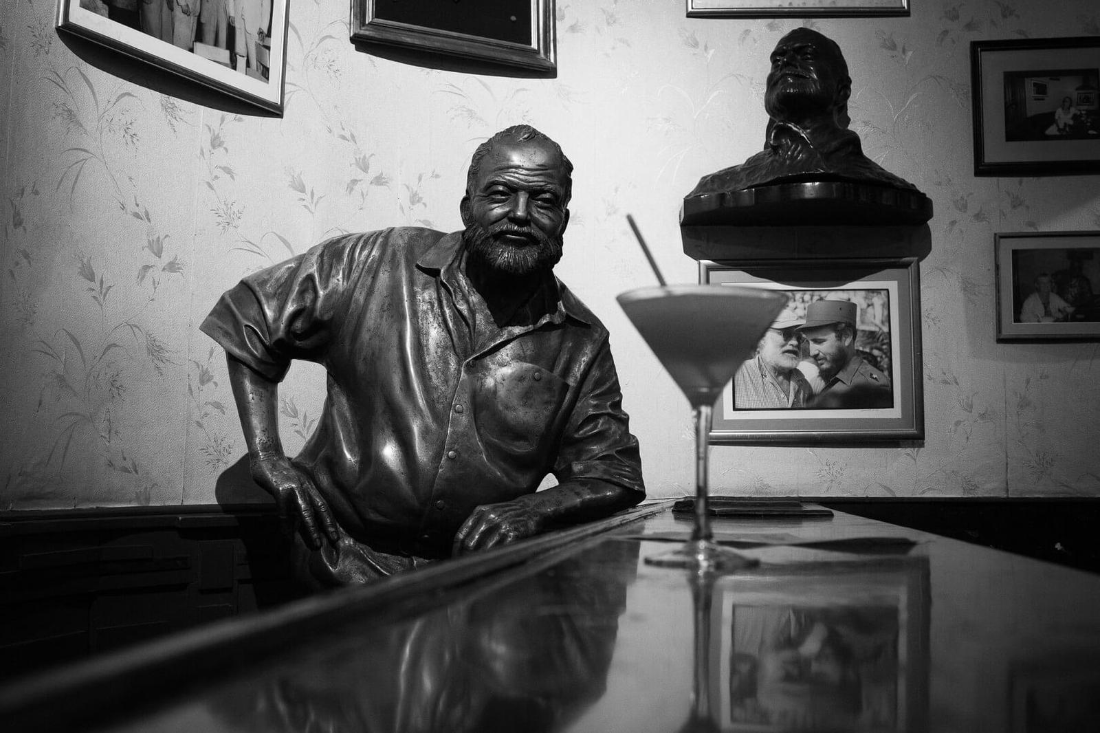Earnest Hemingway bar Havana