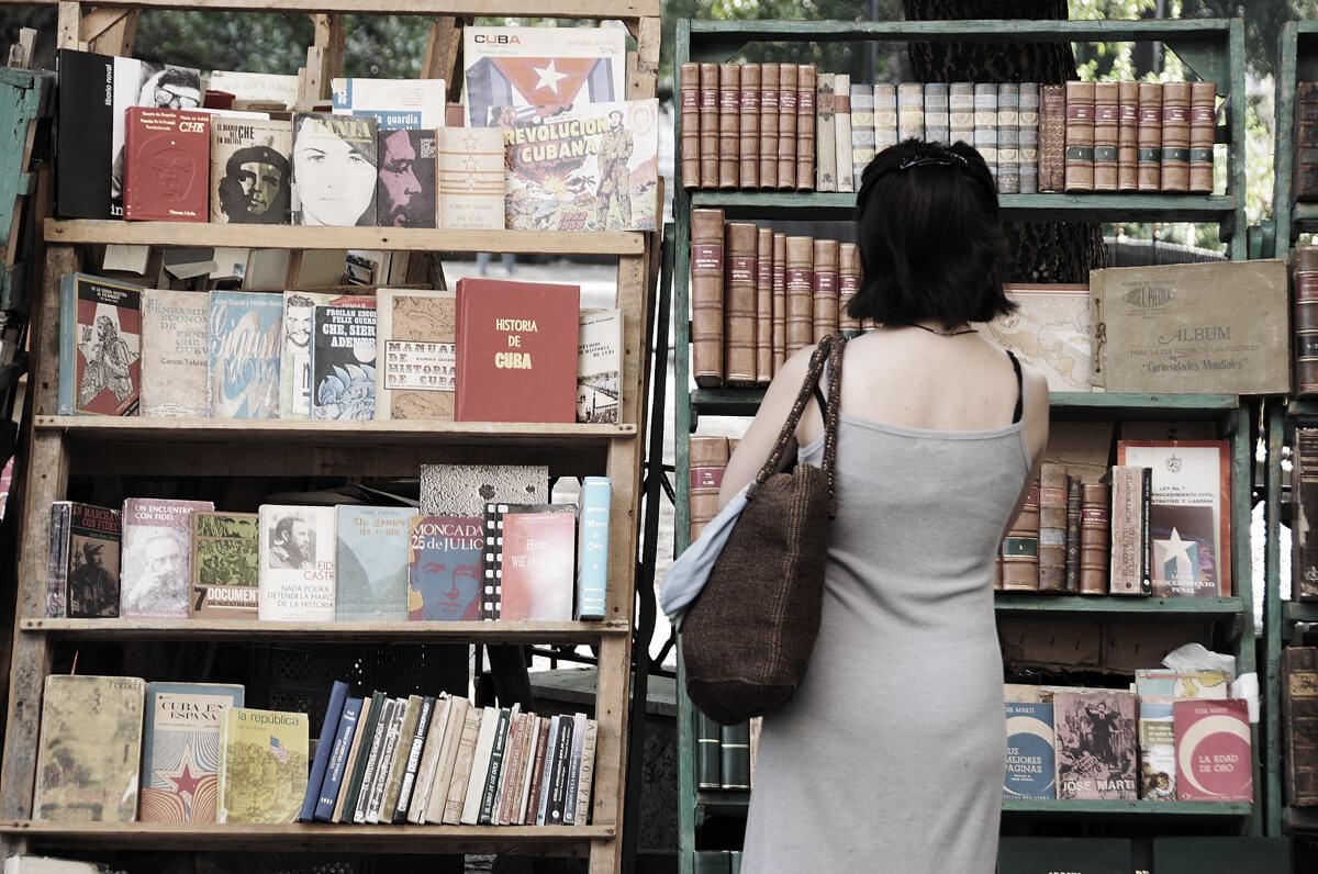 Book market Havana
