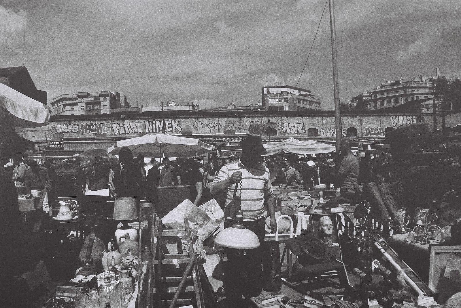 Barcelona Mercat del Encants Market