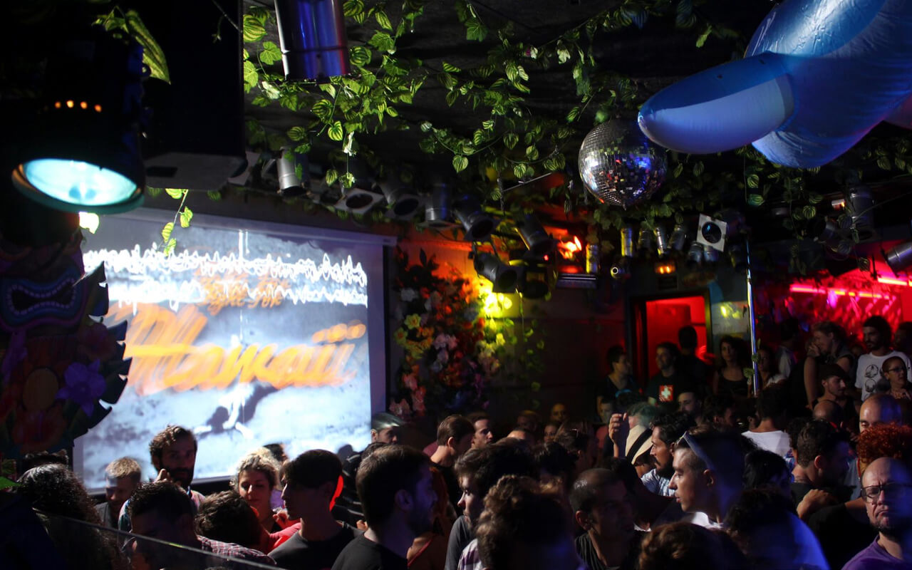 Clubbing guide Barcelona Moog