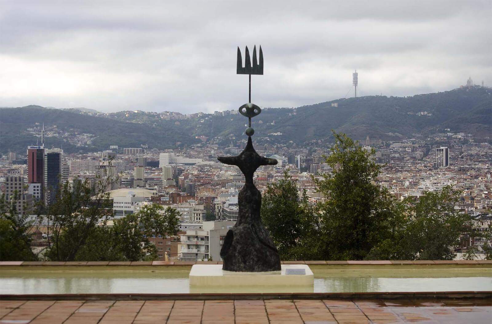 Art galleries Barcelona Montjuic Parc