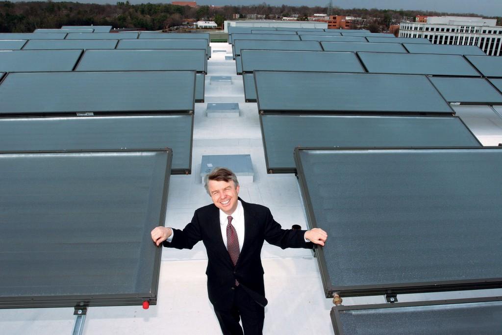 The Proximity Hotel Solar panels