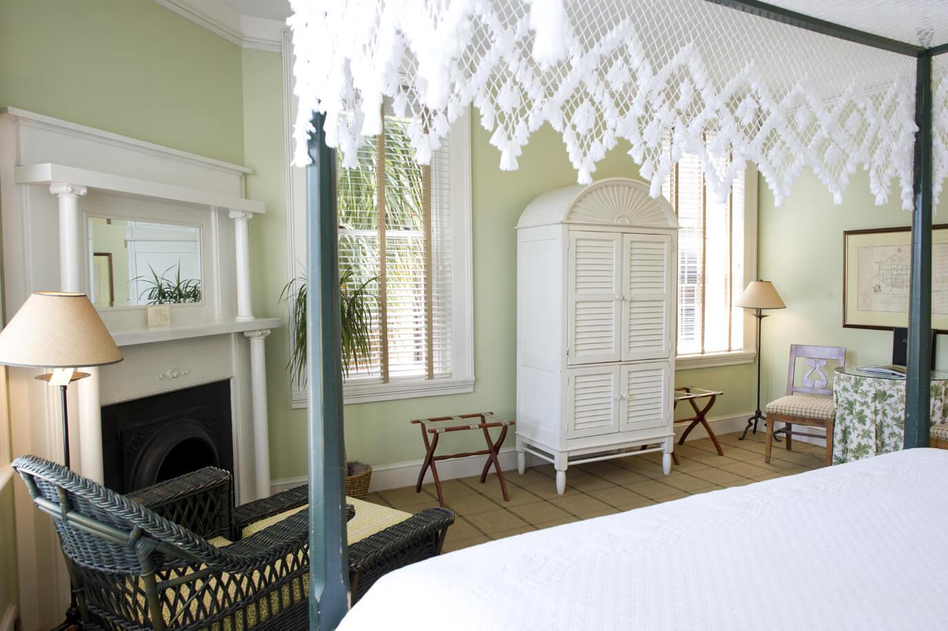 Typical Charleston hotels