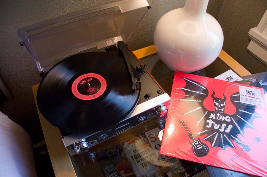 Hotel Max and Sub Pop records