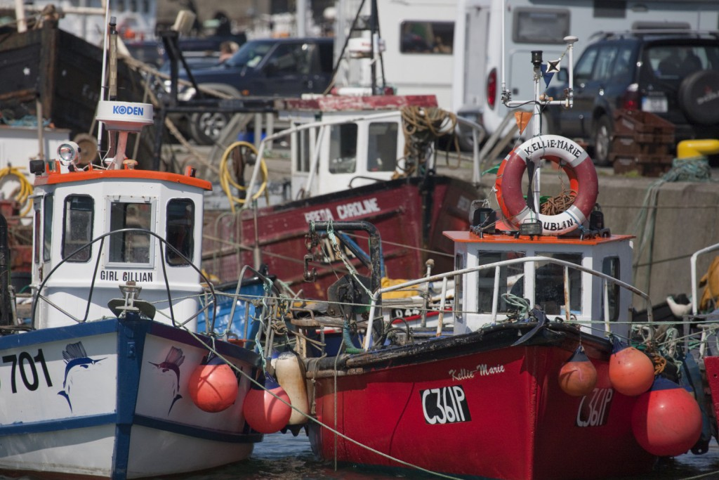 Irish fishing boats