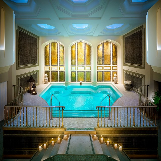 Spa from the Beverly Hills Montage Instagram