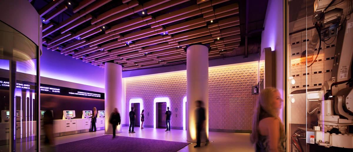 Yotel NYC Lobby