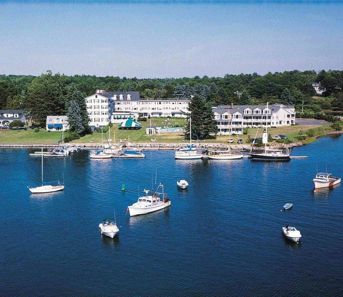 Maine fishing resorts