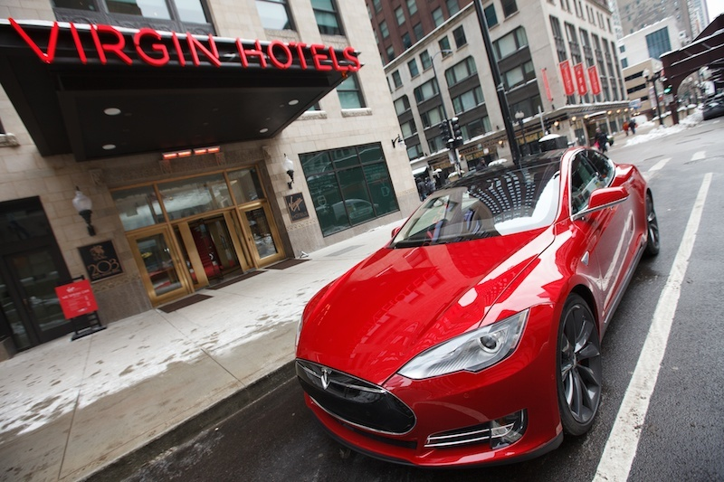 Tesla Virgin Hotel Chicago