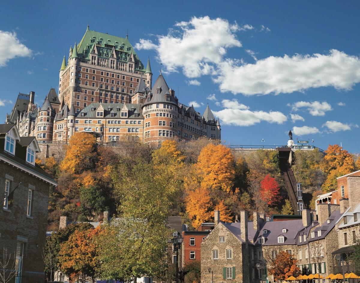 Castle hotel in Quebec City