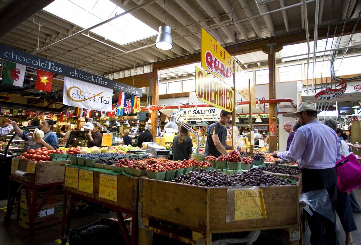 Granville Island Market Vancouver