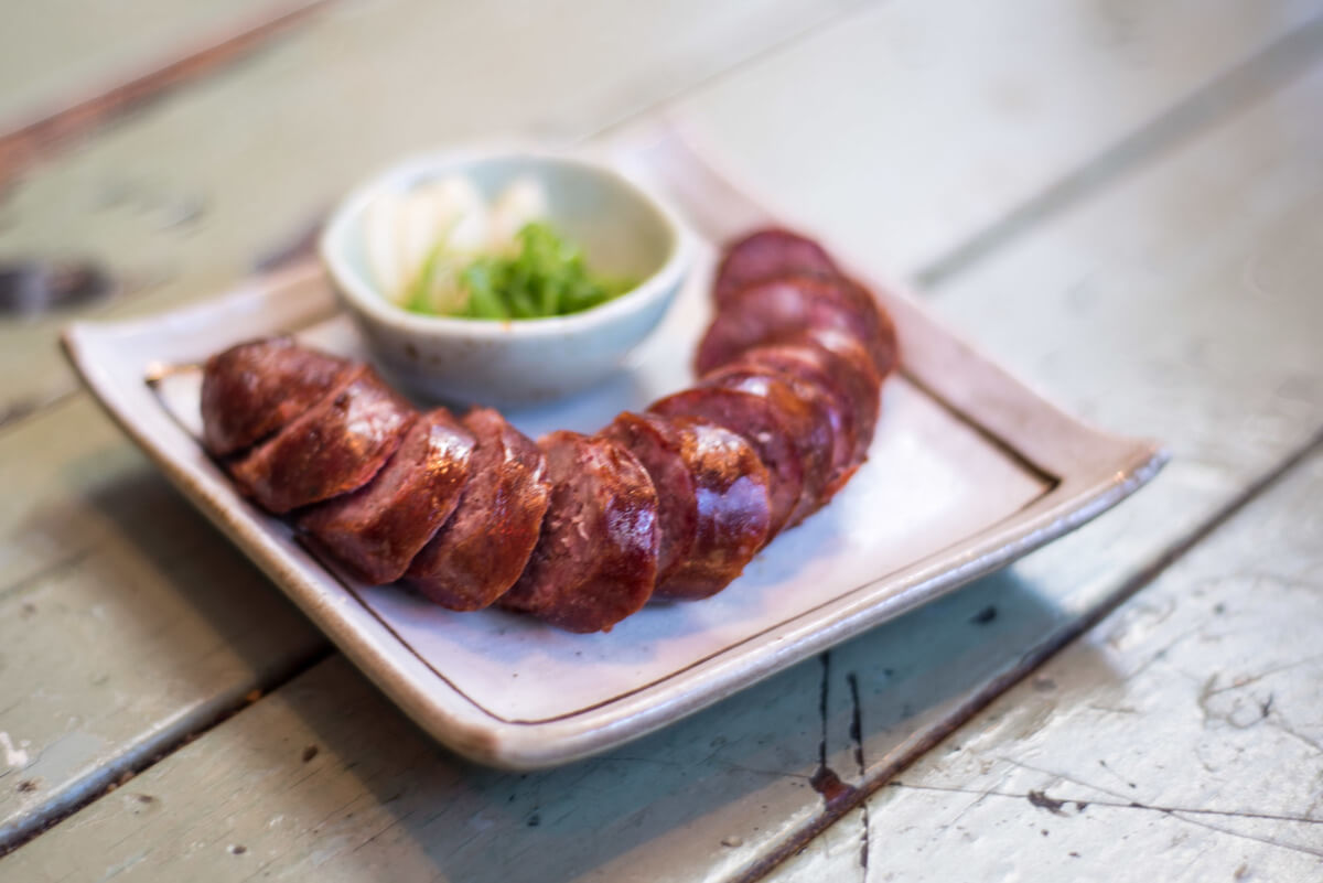 Sausage Bao Bei Vancouver