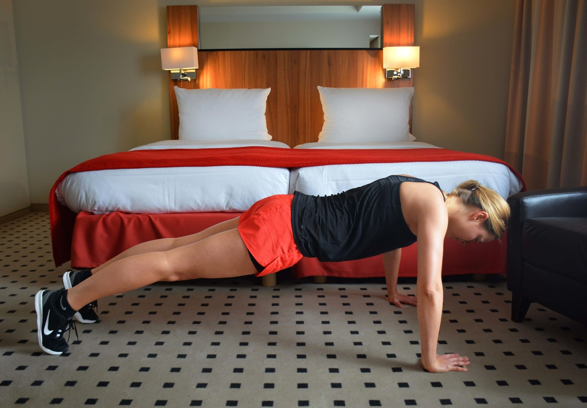 push up hotel workout