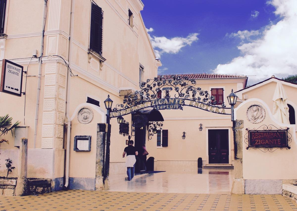 Istria restaurant Buzet