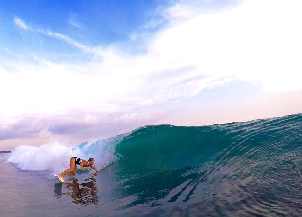 Paige Hareb surfer