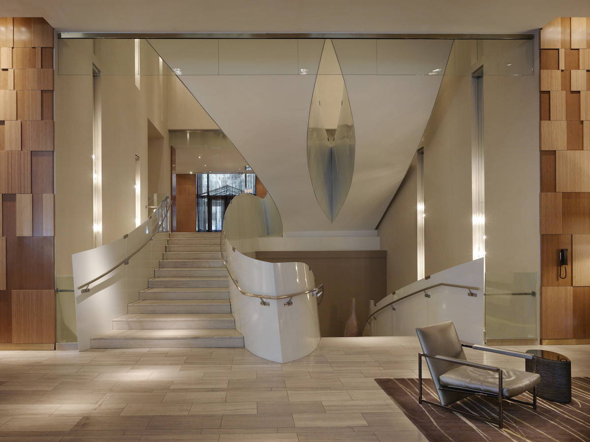 Wall Street Andaz Staircase