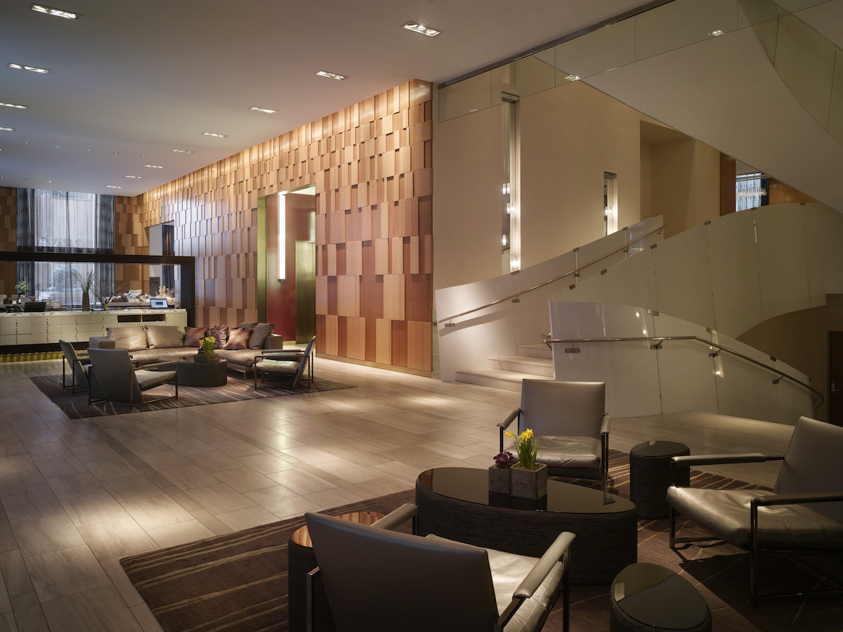 Lounge at the Andaz Wall Street