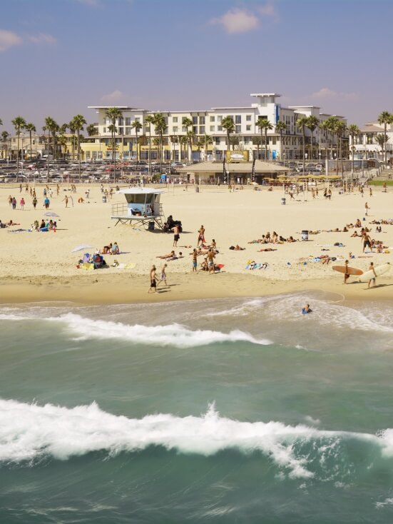 Hotels near Huntington beach