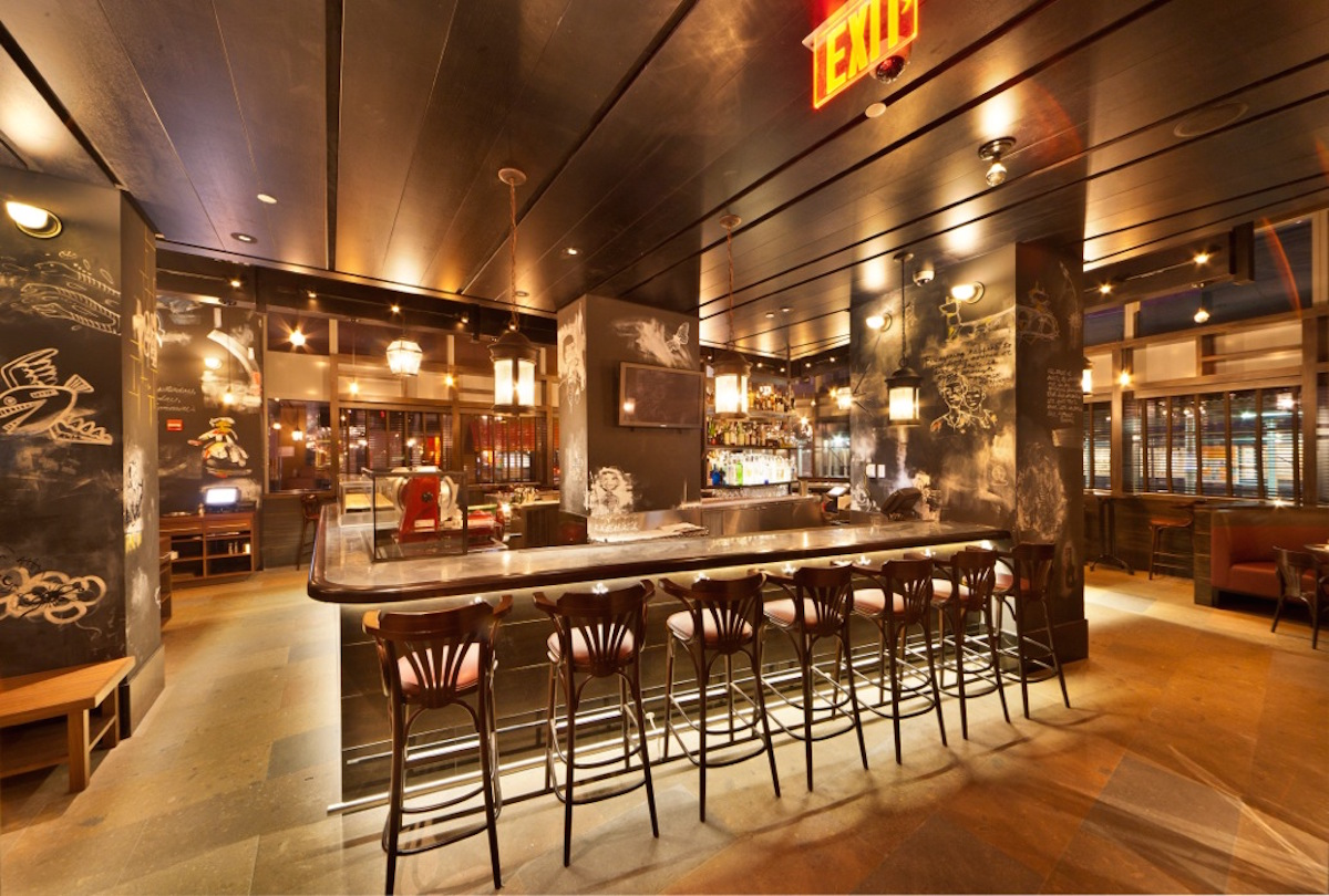 Bar and grill nyc w hotel