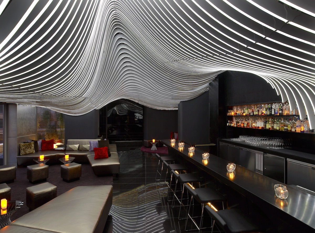 Bar and Terrace W Hotel