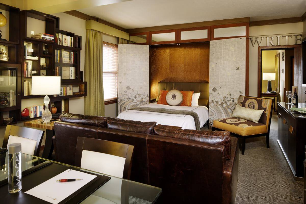 Literary hotel in Portland
