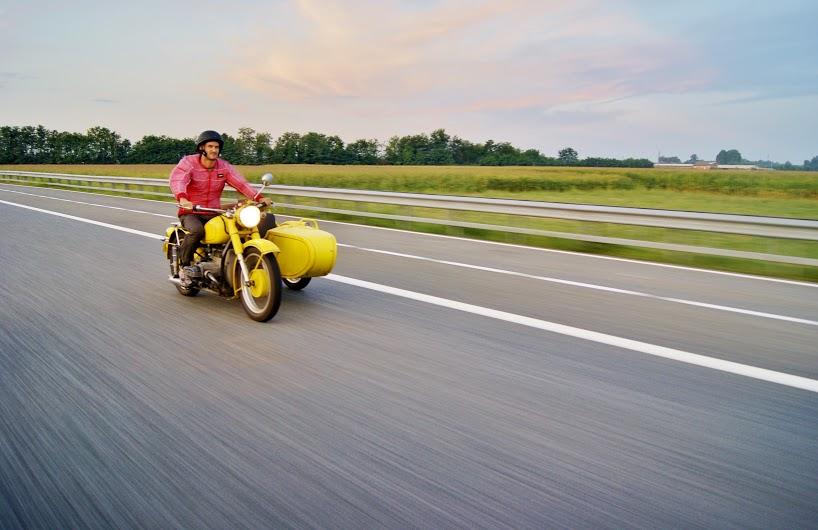 Leon motorbike Kindness Diaries