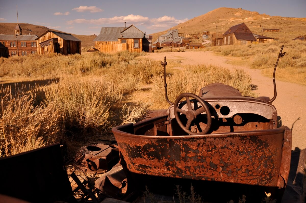Ghost towns USA
